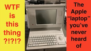 """The Macintosh Portable: The Apple """"Laptop"""" You Never Knew Existed"""