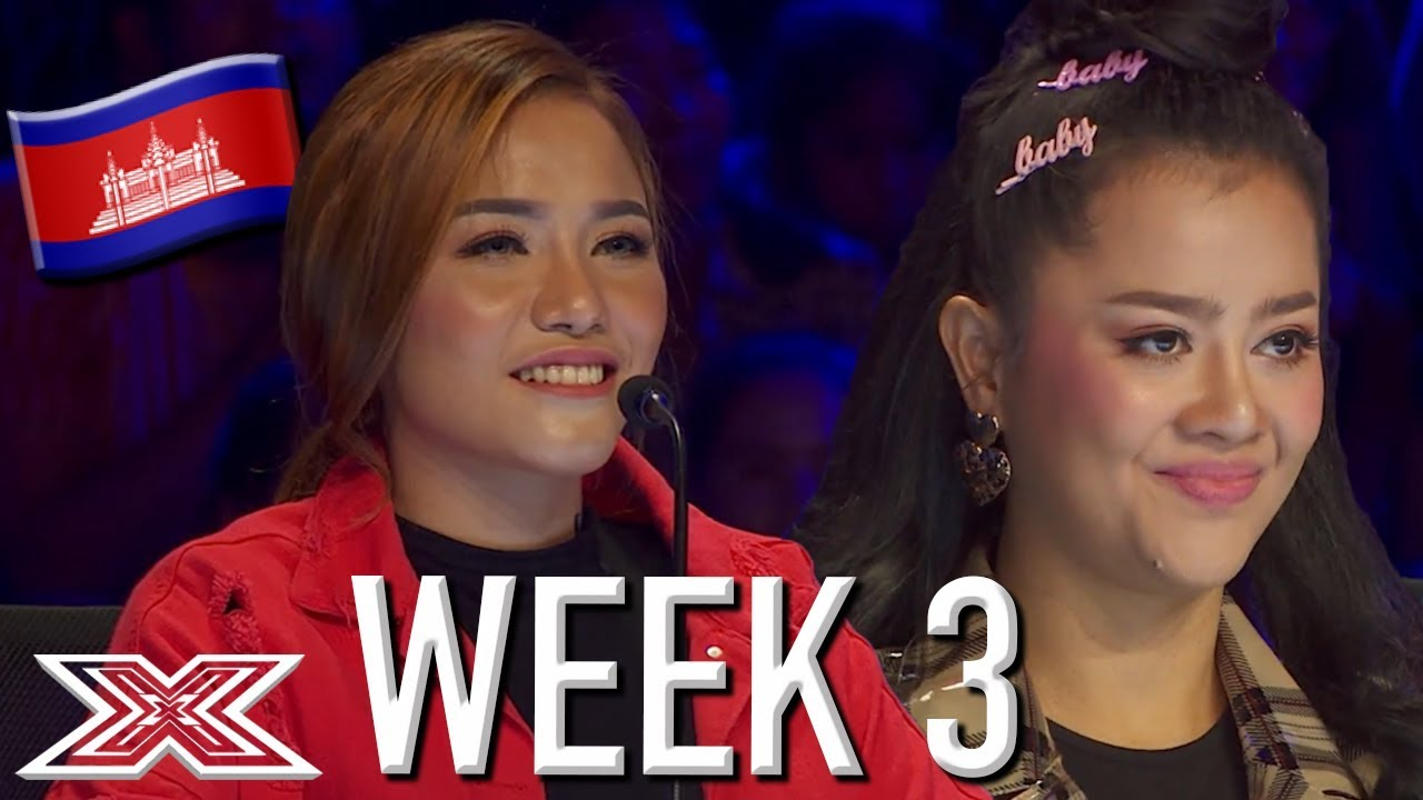 The Best Auditions From X Factor Cambodia (Week 3) | X Factor Global