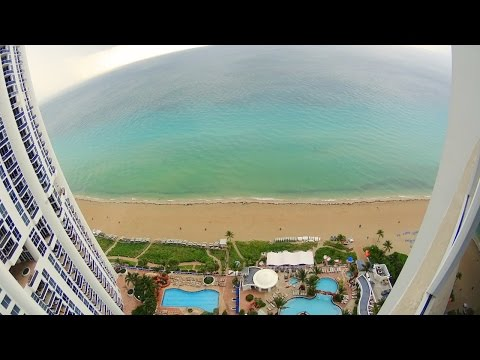 Trump Miami luxury hotel room tour and ocean view in 4K
