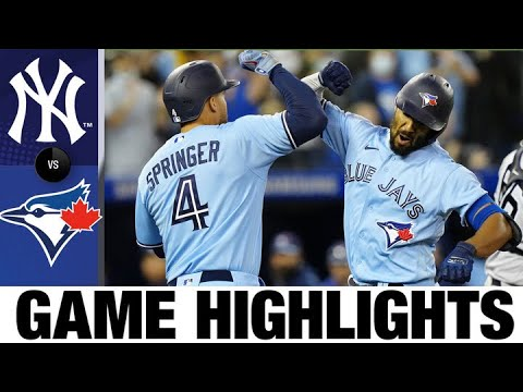 Download Yankees vs. Blue Jays Game Highlights (9/29/21) | MLB Highlights