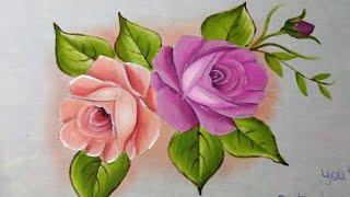 Aprenda Pintar Rosas – para Iniciantes