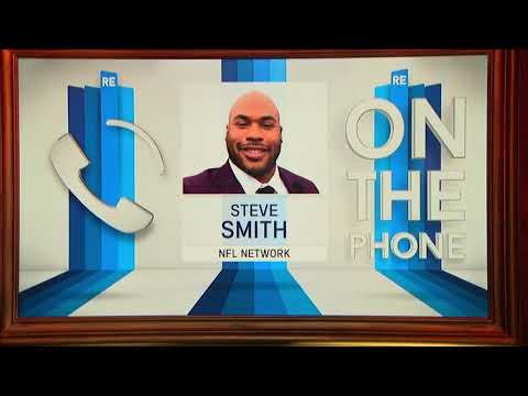NFL Network Analyst Steve Smith Talks SB51, Best WR in NFL & More - 2/7/17