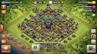 TH10 miglior difesa Clash of Clans 2600+
