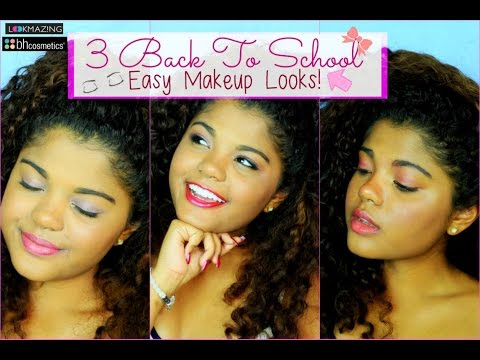 3 EASY BACK TO SCHOOL MAKEUP LOOKS! , #lmbacktoschool
