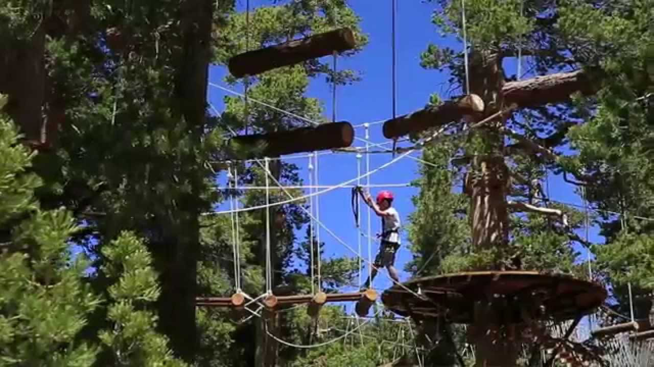 & Heavenlyu0027s Discovery Forest Canopy Ropes Challenge Course - YouTube