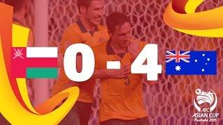 Oman vs Australia: AFC Asian Cup Australia 2015 (Match 10)