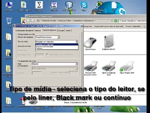 como instalar argox os 214 plus windows 8