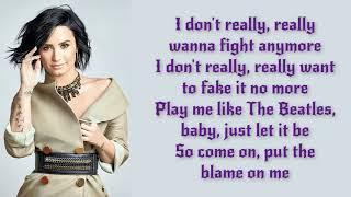 Luis Fonsi Demi Lovato   Échame La Culpa Lyrics  Letra Video  Official  Original  HD  2017