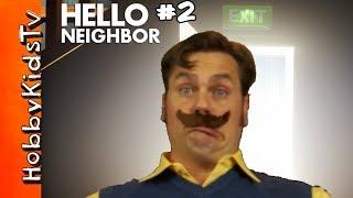 GOT THE NEIGHBOR STUCK GLITCH & CRYPTIC ENDING | Hello Neighbor Alpha 3 [Ending]