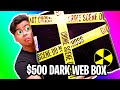 UNBOXING a $500 Dark Web Mystery Box!