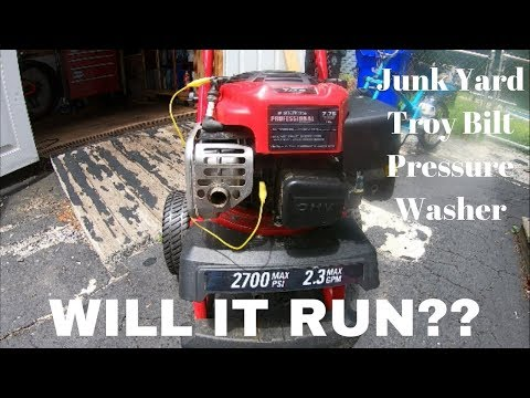 Troy Bilt Pressure Washer from the Dump, Will It Run? Won't Start || No Spark
