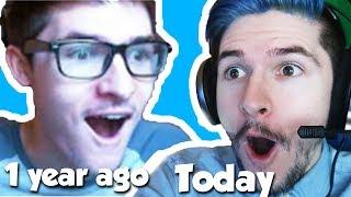REACTING TO OLD VIDEOS!! / Pokemon Brick Bronze / Roblox