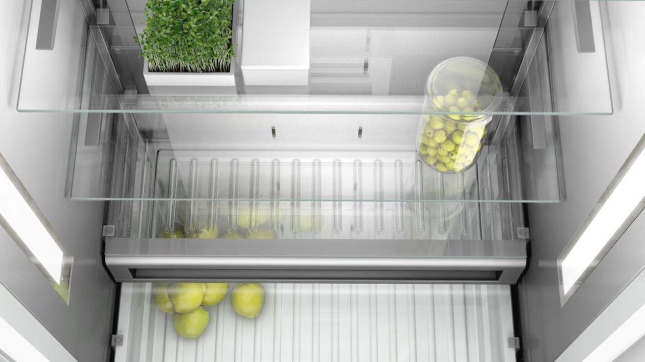 gaggenau 400 series refrigeration vario cooling youtube. Black Bedroom Furniture Sets. Home Design Ideas