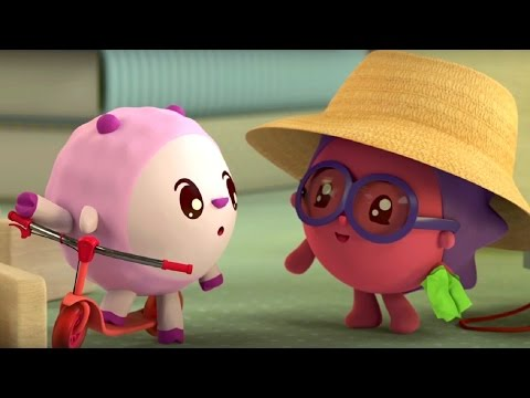 Малышарики - Ферма - серия 75 - обучающие мультфильмы для малышей 0-4