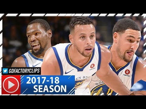 Stephen Curry, Kevin Durant & Klay Thompson EPIC BIG 3 Highlights vs Sixers (2017.11.11) - TOO GOOD!
