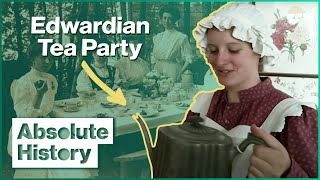 How To Run An Edwardian Tea Room | Turn Back Time: The High Street | Absolute History