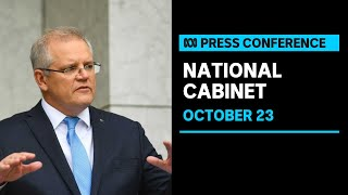 Prime Minister Scott Morrison speaks after National Cabinet Meeting | ABC News