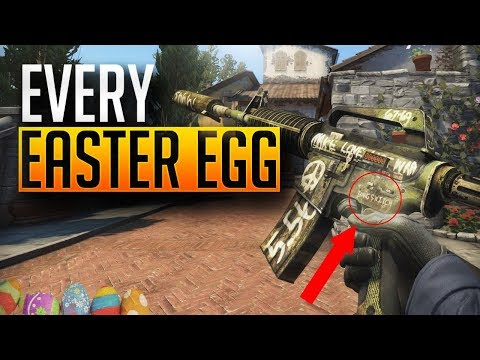 CS:GO - EVERY WEAPON EASTER EGG AND SECRET!