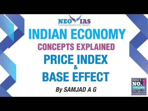 Price Index / Base Effect /Inflation Part 02 | Indian Econom