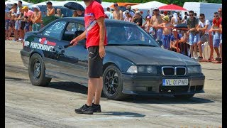 BMW E36 2.8 330 Hp N/A vs Mitsubishi Colt CZT - Drag Race Ianca 2017 by Alex Buzoianu Photo