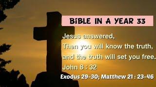 성경일년일독 33 (NIV, 개역개정): 출애굽기 29…