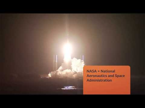 NASA = National Aeronautics and Space Administration