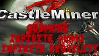 Castle Miner Z PC:Online Hacks! CastleMinerZ PC Online Godmode, Infinite Ammo and Duribility