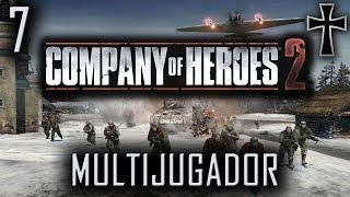 Company of Heroes 2 - Partida Multijugador Nº 7 [Partida Especial - Eje]