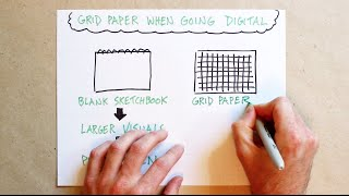 Using Graph Paper To Guide Your Writing And Drawing