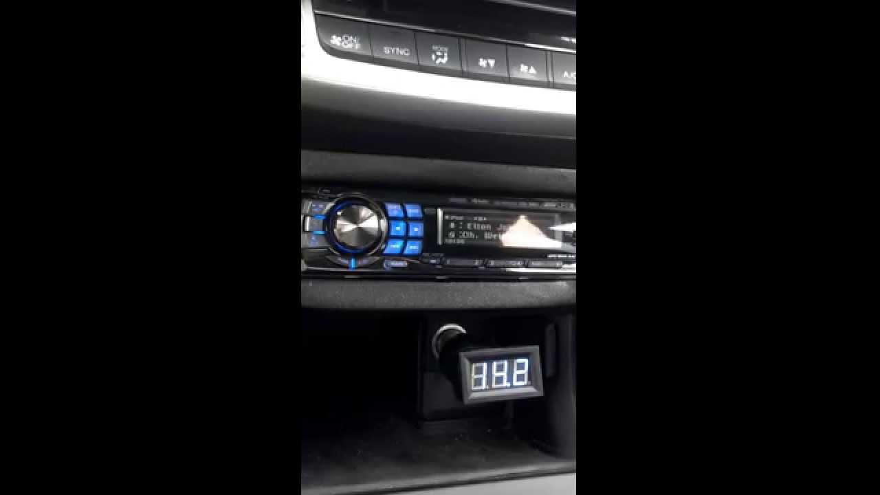 2014 Accord Charging System Test 2 Youtube Control Valve Location On Honda Knock Sensor Of 2013