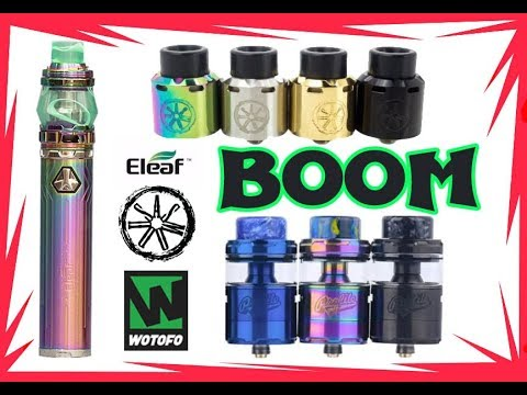 Video BOOM / BLANK Asmodus / PROFILE Unity wotofo / IJUST 21700 Eleaf