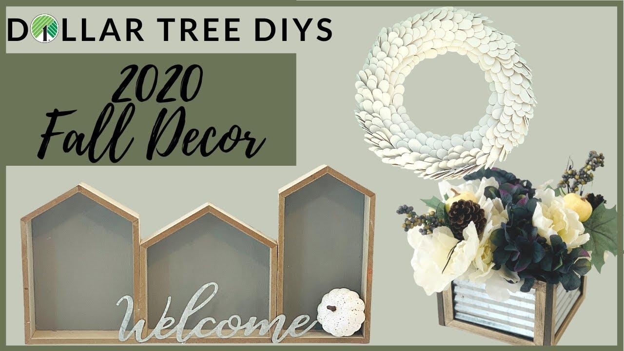 *NEW* DOLLAR TREE FALL DIY FARMHOUSE DECOR 30