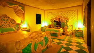 Download 48 Days Build the Most Beautiful Jungle Villa with Royal Design Bedding Style