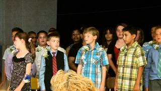 "5th Grade Graduation song ""You Can Count On Me"""
