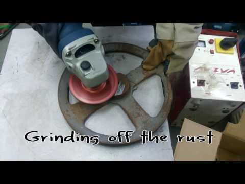 Using Angle Grinder for cutting,grinding,polishing,metal,wood (beginners) | DIY India