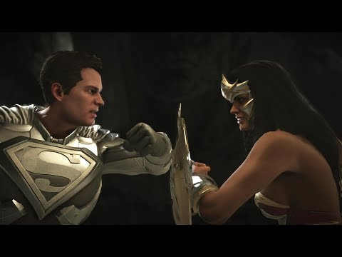 Injustice 2 : Superman Vs Wonder Woman - All Intro/Outros, Clash Dialogues, Super Moves