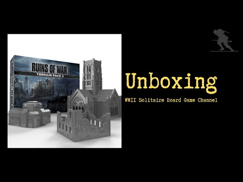 Company of Heroes: Company of Heroes – Terrain Pack 2 - Unboxing |