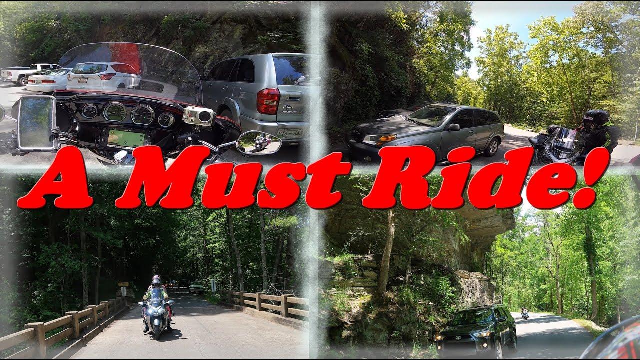 A Must Ride!   Bald River Falls by Cherohala Skyway