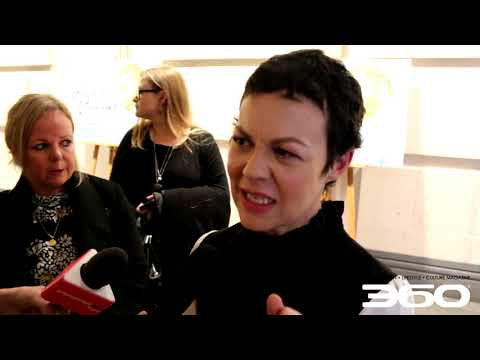 Helen McCrory and Hugh Welchman talk at Loving Vincent premiere BFI London Film Festival