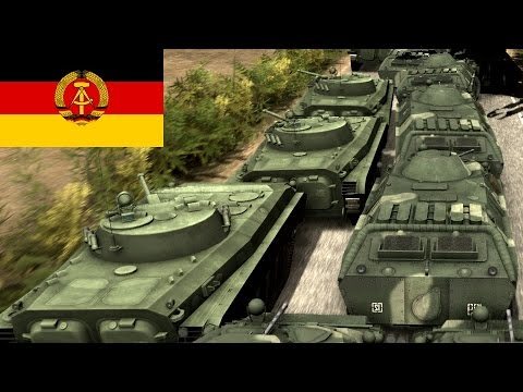 Wargame Red Dragon - Infantry push with East Germany - Gameplay