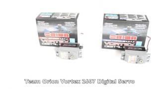 Team Orion Vortex 1605 & 2607 Digital Servos