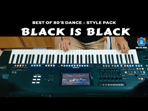 Black is Black - Style for Yamaha Keyboard - Best of 80's Dance music - Yamaha Genos