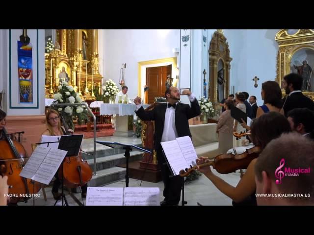 Padre Nuestro - Parroquia San Francisco Javier - San Javier - Bodas Murcia Musical Mastia