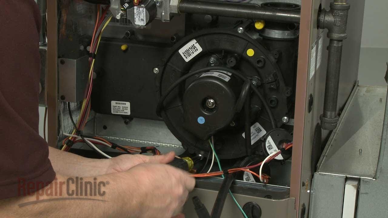 York Furnace Starts Stops Draft Inducer Motor S1