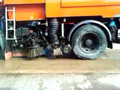 johnston 600 road sweeper manual