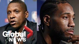 Masai Ujiri: Toronto Raptors confident they can keep Kawhi Leonard