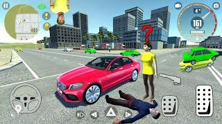 Car Simulator C63 #1 - Fun Car Game! 😆 - Android gameplay