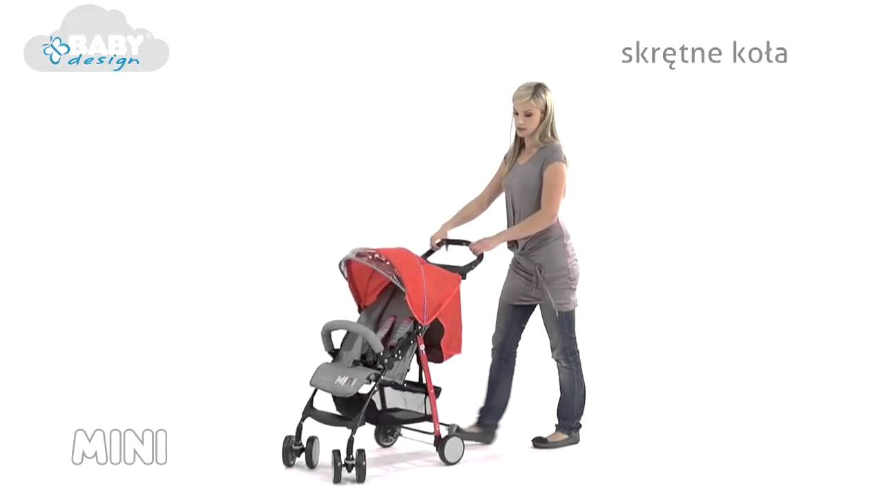 Baby Design Mini lapra csukható sport babakocsi - YouTube fcb2667c2e
