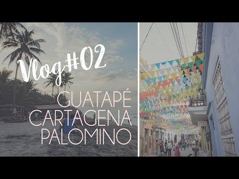 VLOG #02 // Guatapé, Cartagena, Palomino & NEUES aus Kolumbien 🌴
