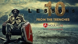 AngularJS in the Enterprise – 10 Lessons from the trenches | Duncan Hunter